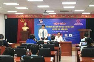 200 vận động viên tham gia Giải Bóng bàn Cúp Hội Nhà báo Việt Nam 2020