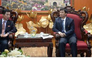 Phó Tổng Giám đốc VOV tiếp đoàn Đại sứ quán CHDCND Triều Tiên