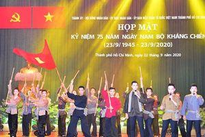 Họp mặt kỷ niệm 75 năm Ngày Nam Bộ kháng chiến