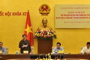 FTA góp phần thúc đẩy GDP của Việt Nam tăng hơn 300%