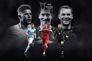 Nóng: Lewandowski, De Bruyne và Neuer tranh giải hay nhất năm