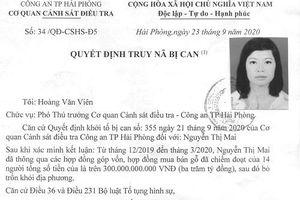 Truy nã bị can đối với Nguyễn Thị Mai - Giám đốc Công ty Mai Lâm