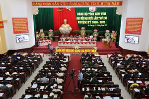 Tỉnh đầu tiên của Tây Nguyên khai mạc Đại hội Đảng bộ