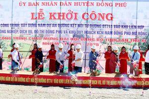 Bình Phước khởi công 5 dự án đường kết nối vào các khu công nghiệp