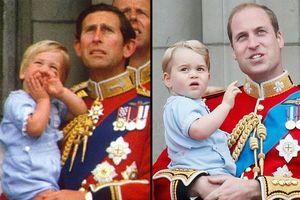 Bất ngờ những lần hoàng tử Anh mặc trang phục giống thế hệ trước