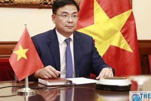 Hội nghị trực tuyến cấp Bộ trưởng Nhóm 3G lần thứ 13