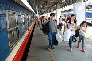 Bắt đầu mở bán vé tàu Tết 2021 từ ngày 1-10