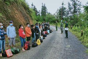 Đồn Biên phòng tỉnh Hà Giang phát hiện 27 công dân nhập cảnh trái phép