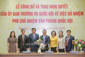 Ông Vũ Minh Tuấn làm Phó Chủ nhiệm Văn phòng Quốc hội