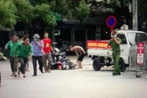 Hỗn chiến kinh hoàng trong sân Bệnh viện E Hà Nội