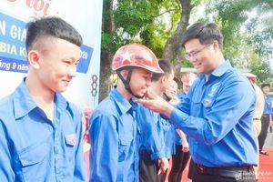 Nghệ An sôi nổi ngày hội 'Đoàn Thanh niên với an toàn giao thông'