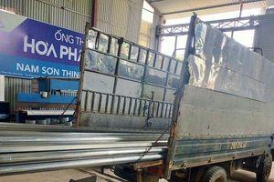 Xử phạt doanh nghiệp kinh doanh ống thép giả mạo nhãn hiệu Hòa Phát, Việt Đức