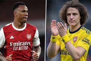 'Tân binh Arsenal may mắn vì có David Luiz'