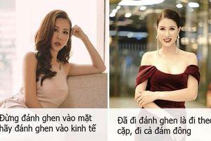 Hoa hậu Thu Hoài cùng loạt sao Việt đưa ra quan điểm về chuyện đánh ghen và việc chồng đánh vợ để bảo vệ bồ nhí