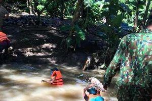 Đã tìm thấy thi thể người phụ nữ ở Đồng Nai bị lọt xuống mương nước ven đường mất tích