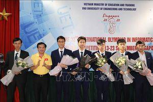 Cả 4 thí sinh Việt Nam dự thi Olympic Tin học quốc tế lần thứ 32 đều đoạt huy chương