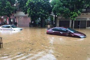 Mưa lớn gây ngập úng nhiều nơi ở Lào Cai