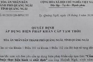 Vụ bất chấp lệnh khẩn cấp tạm thời của Tòa án: Bên bị phản tố liên tục vi phạm luật