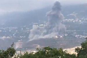 Kho vũ khí lớn ở Lebanon phát nổ, bốc cháy dữ dội