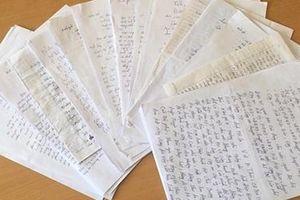 Cảm động những bức thư người dân Mường Nhé gửi Bộ Công an