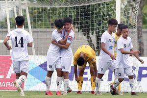 Xác định 4 đội vào bán kết giải U17 quốc gia 2020