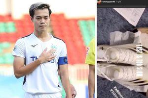 Văn Toàn tậu 'vũ khí' đặc biệt trước ngày V.League trở lại: Là sự lựa chọn của ngôi sao Son Heung-min, thiết kế riêng cho các chân chạy