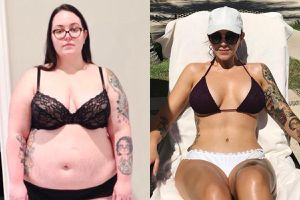 8 cô gái có thân hình quyến rũ sau khi giảm nhiều cân