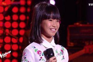 'Bonjour Vietnam' của cô bé gốc Việt chinh phục khán giả 'The Voice Kids' Pháp