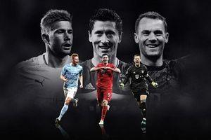 Đề cử 'Cầu thủ xuất sắc nhất châu Âu 2020' vắng mặt cả Messi và Ronaldo