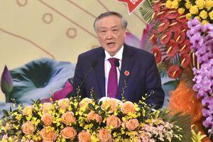 Bí thư Trung ương Đảng Nguyễn Hòa Bình dự Đại hội Đảng bộ Bà Rịa -Vũng Tàu