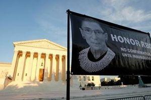 Tranh cãi về người thay thế Thẩm phán Ruth Bader Ginsburg tại Tòa án Tối cao Mỹ
