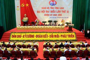 Khai mạc Đại hội Đảng bộ tỉnh Vĩnh Long nhiệm kỳ 2020-2025