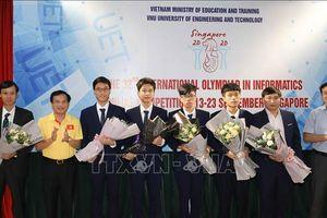 Việt Nam giành 4 huy chương tại Olympic Tin học quốc tế lần thứ 32