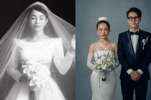 Ái nữ nhà Minh Nhựa gây 'sốt' khi lần đầu hé lộ bộ ảnh cưới 'đẹp mướt mắt' nhân kỷ niệm một năm lên xe hoa