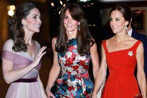 Kate Middleton mặc váy cộc tay đẹp nhờ có bí quyết này