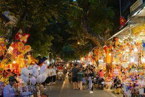 Cấm phương tiện ở 5 tuyến phố phục vụ Trung Thu phố cổ Hà Nội