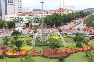 Bắc Ninh rực rỡ cờ hoa, chào mừng Đại hội đại biểu Đảng bộ tỉnh lần thứ XX
