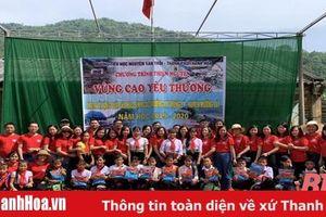 Phong trào nhân đạo tại các trường học trên địa bàn TP Thanh Hóa