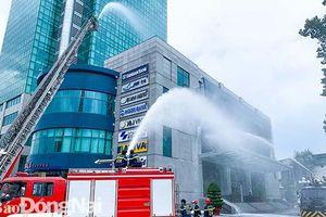 Diễn tập chữa cháy và cứu nạn, cứu hộ cấp tỉnh tại tòa nhà Sonadezi