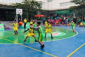 142 đội tham dự Giải Bóng rổ học sinh tiểu học Hà Nội lần thứ 14