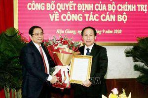 Chủ tịch UBND tỉnh Hậu Giang Lê Tiến Châu giữ chức Bí thư Tỉnh ủy