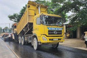 Dự án cải tạo, nâng cấp đường Tản Lĩnh - Yên Bài phải hoàn thành trước ngày 5-10