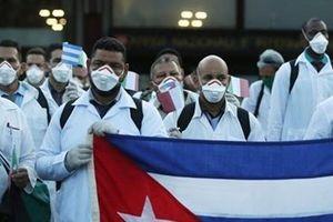 Ngoại giao y tế giúp Cuba ghi điểm với thế giới