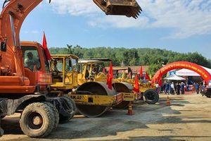 Khởi công nâng cấp quốc lộ 40B đoạn qua địa phận Quảng Nam