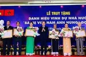41 Mẹ được truy tặng danh hiệu Bà mẹ Việt Nam Anh hùng