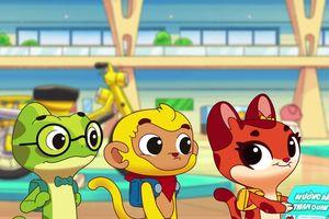 Giúp trẻ nhận biết phương tiện giao thông qua phim hoạt hình