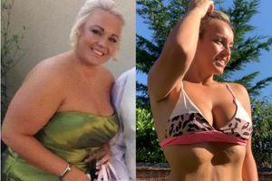 Tân Hoa hậu Anh và hành trình giảm từ 114 kg xuống 64 kg