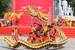13 đội tham gia Liên hoan nghệ thuật Múa Rồng - Hà Nội năm 2020
