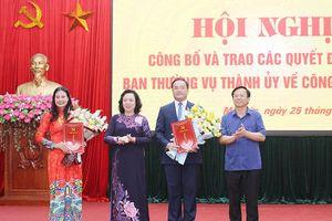 Bà Bạch Liên Hương được phân công làm Giám đốc Sở LĐTB&XH Hà Nội