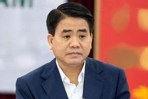 Miễn nhiệm chức vụ Chủ tịch UBND TP Hà Nội đối với ông Nguyễn Đức Chung